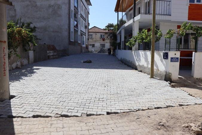 Nazilli Belediyesi, yol çalışmalarında dur durak bilmiyor