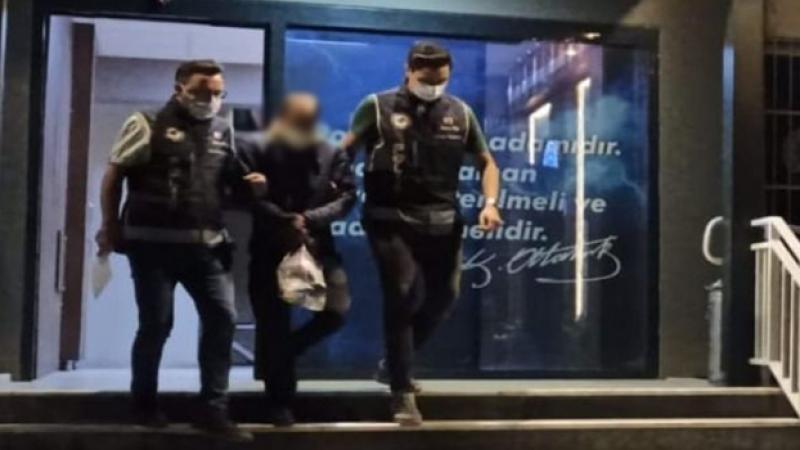 Kablo hırsızlarını polis enseledi