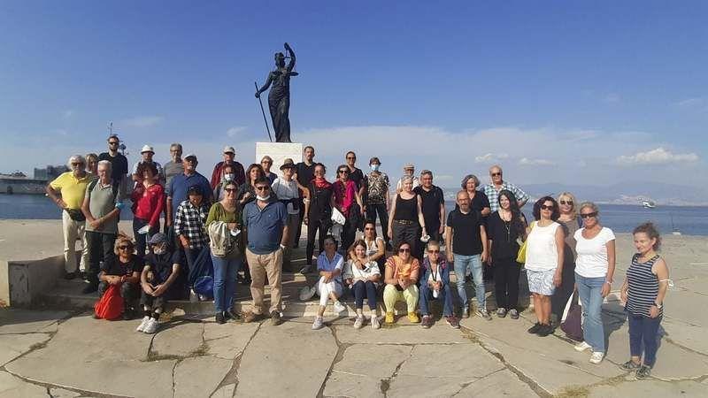 Kuşadalı doğaseverlerden Agora'dan terapi ormanlarına yolculuk