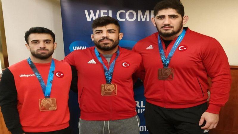 Grekoromen Milli Takımı Dünya Güreş Şampiyonası'nda 6 madalya
