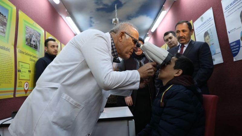 1.760 çocukta görme problemi tespit edildi