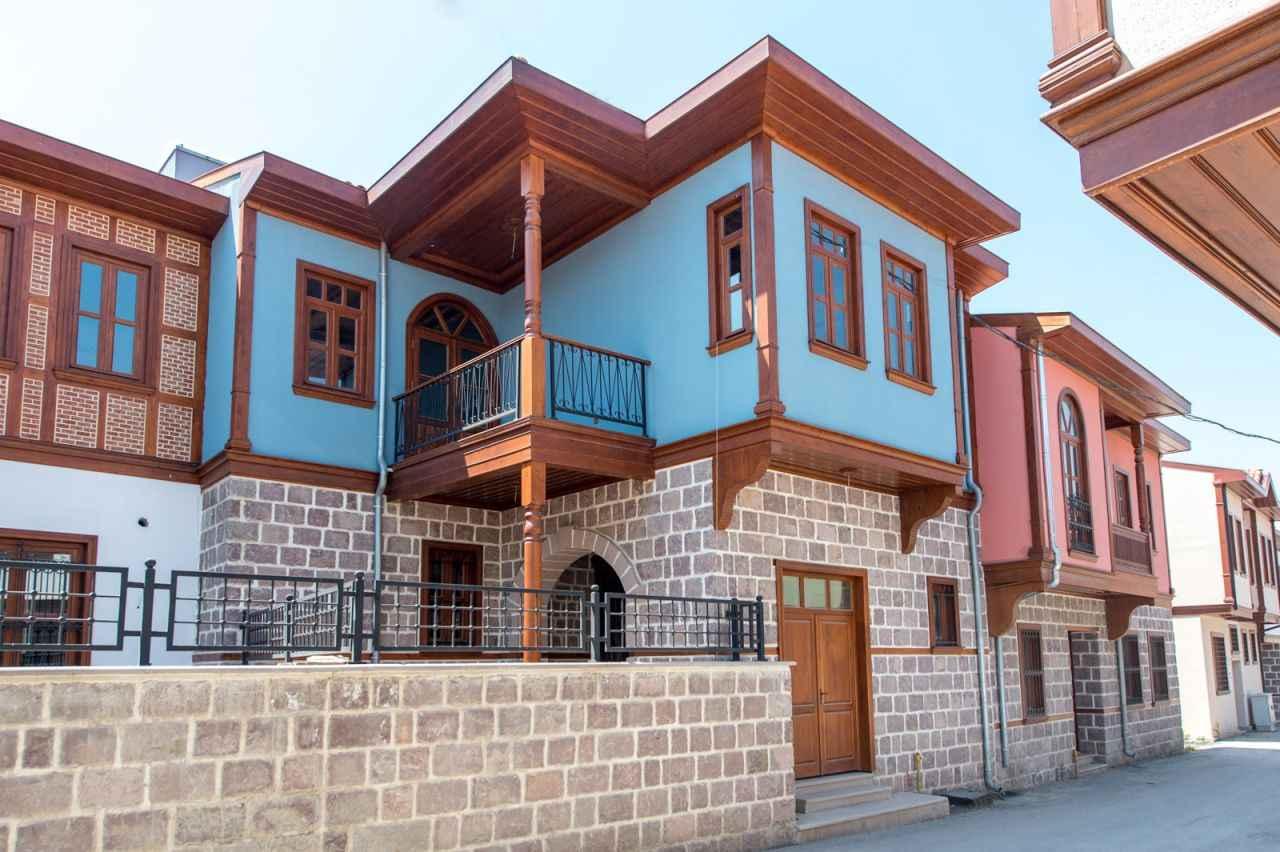 Ankara'da konağınız olsun! Tarihi Ankara evleri satışa sunuldu ...