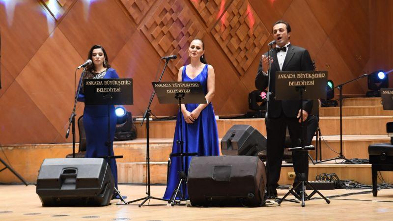 Ankara Büyükşehir'den Azerbaycan için bağımsızlık konseri