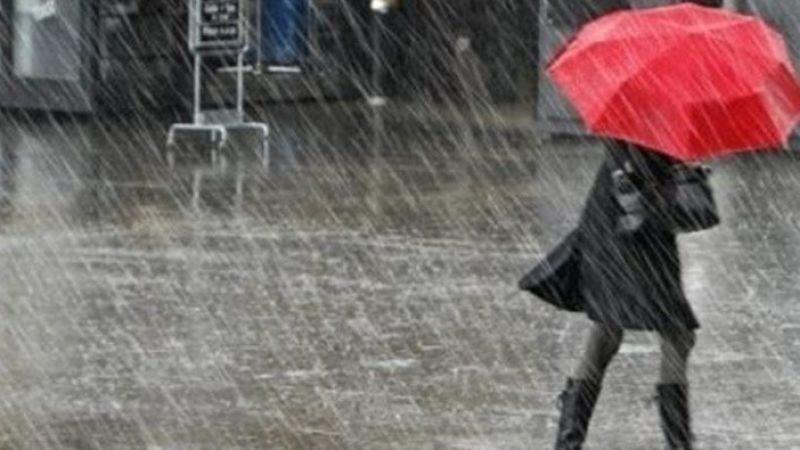"""Bu illerdekiler dikkat! Meteorolojiden """"kuvvetli yağış"""" uyarısı"""
