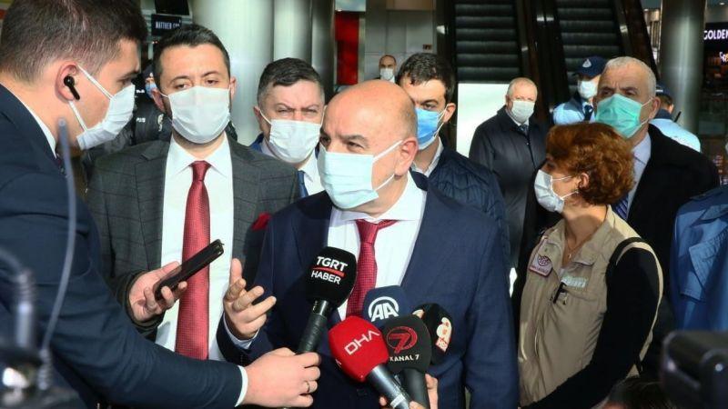 Ankara Keçiören'de sıkı koronavirüs denetimi