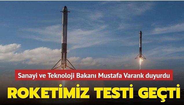 Tarihi gün! Türkiye'nin Ay'a gidecek uzay aracının roketi ilk kez ateşlendi