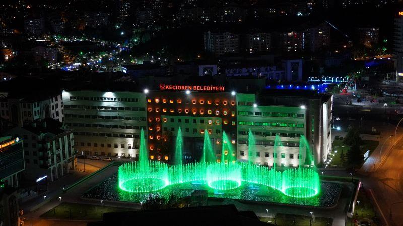 Ankara'da bir ilk: Su ve Gül Meydanı'nda muhteşem Şölen