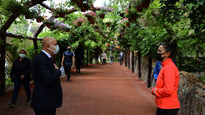 Sporseverler Atatürk Botanik Bahçesi'ne Akın Ediyor