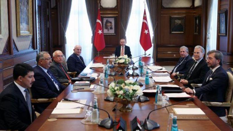 Yüksek İstişare Kurulu Cumhurbaşkanlığı Külliyesi'nde Toplandı