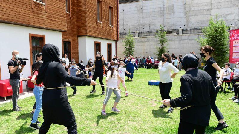 Geleneksel Oyunlar Altındağ'da Canlandı