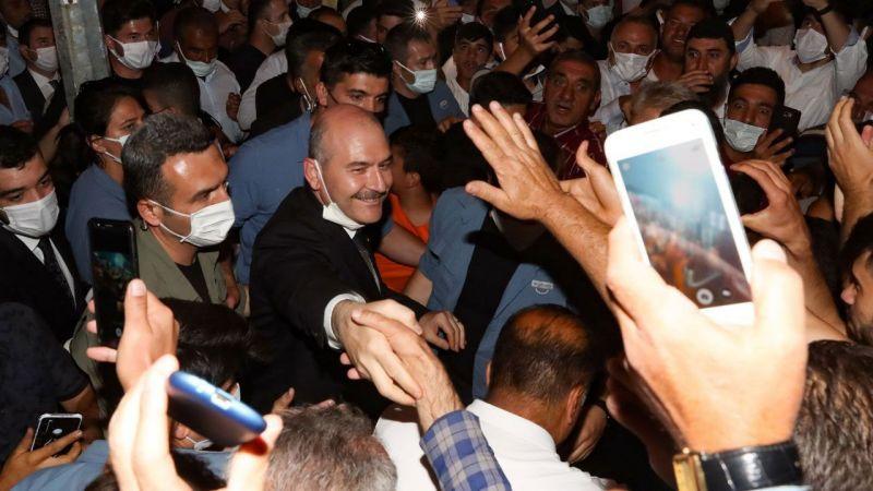 """İçişleri Bakanı Süleyman Soylu: """"Başlarını Mağaralardan Çıkaramıyorlar"""""""