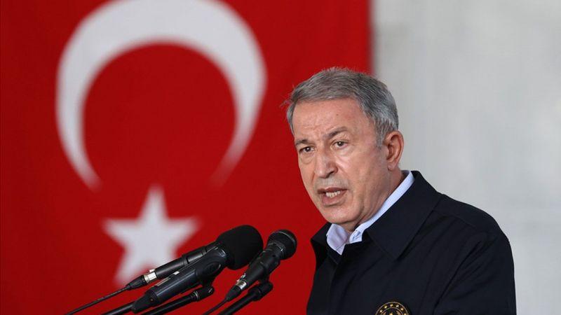 """Milli Savunma Bakanı Hulusi Akar: """"Nereye Kaçarlarsa Kaçsınlar, Terörü Bitireceğiz"""""""