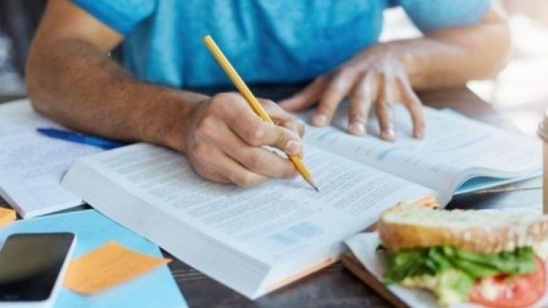 YKS Öncesi Öğrencilere Doğru Beslenme Uyarısı