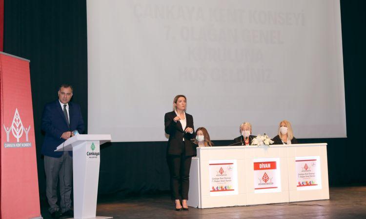 Çankaya Kent Konseyi Genel Kurulu Yapıldı