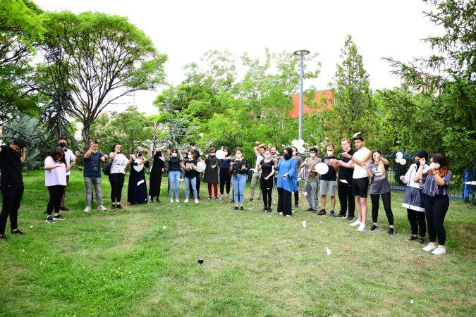 Mamak Belediyesi Yükseköğretim Kurumları Sınavına Girecek Öğrenciler İçin Moral Etkinliği Düzenledi