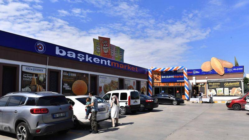 Kırsal Kalkınma Hamlesi Sürüyor: Başkent Market'in Altıncı Şubesi Batıkent'te aAçıldı