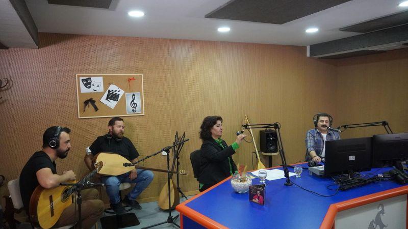 Radyo Angara'da Sazla Sözle 'Yürekten Dile'