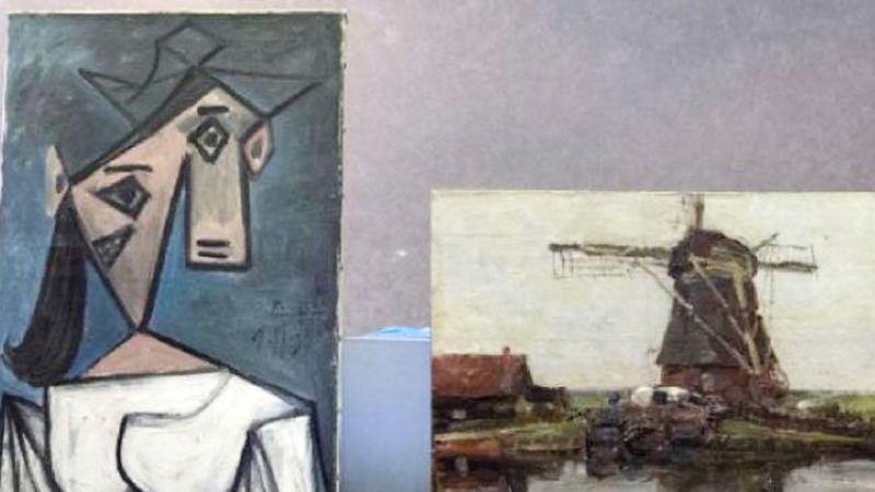 Picasso'nun Çalınan Tablosu 9 Yıl Sonra Bulundu