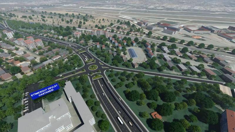 1,5 Milyon Ankaralının Sorununa Neşter: Etimesgut İstasyon Caddesi'nde Çalışmalar Hızla İlerliyor