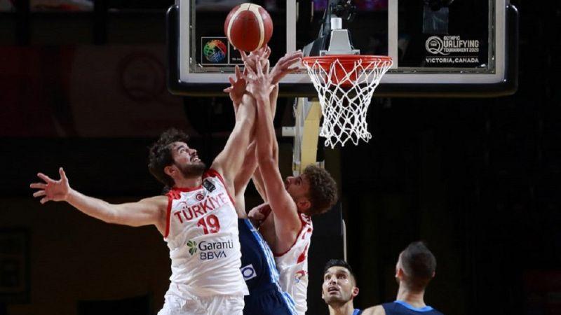 Hoşçakal TOKYO! FIBA Olimpiyat Elemeleri'nde Türkiye, yarı finalde Yunanistan'a yenildi
