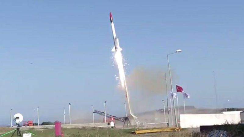 Sonda Roket Sistemi (SORS)'nin Uçuş TestiBaşarıyla Gerçekleştirdi