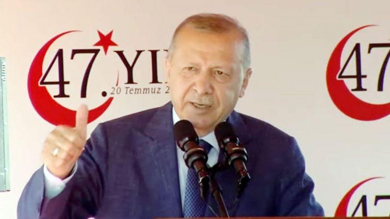 """Cumhurbaşkanı Recep Tayyip Erdoğan: """"Barış Harekatı 47 Yıldır Hazmedilememiş!"""""""