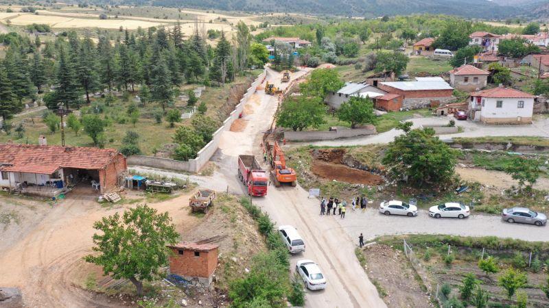 """Ankara'nın İçme Suyu Hatları """"Asbest""""li Borulardan Temizleniyor"""