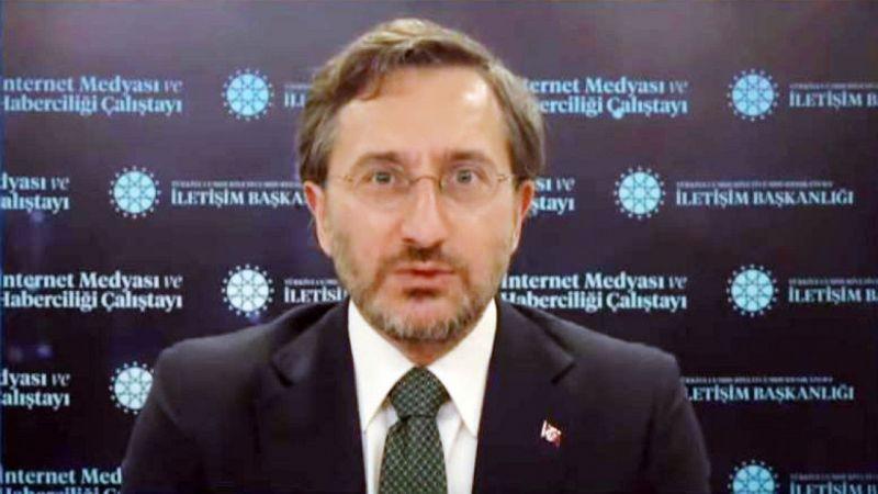 İletişim Başkanı Prof. Dr. Fahrettin Altun'dan Yıl Dönümü Mesajı