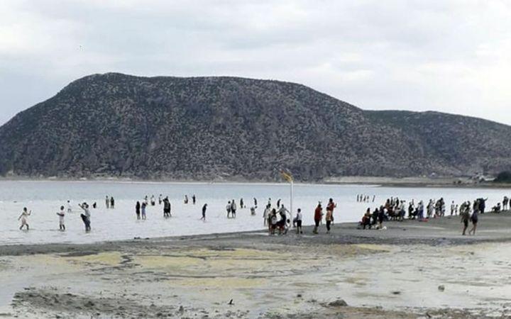 Salda'da sular 50 metre çekildi!! İşte Salda Gölü'nün son hali