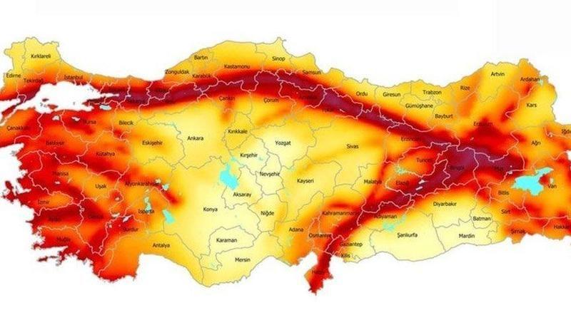 Ankara'da Fay Hattı Var Mi? Ankara Deprem Açısından Riskli Mi? Ankara'da Yıkıcı Deprem Olur Mu?