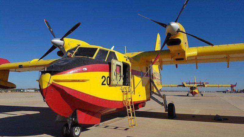 Türkiye'deki Yangınlara Avrupa Birliği'nden Üç Uçak Geliyor