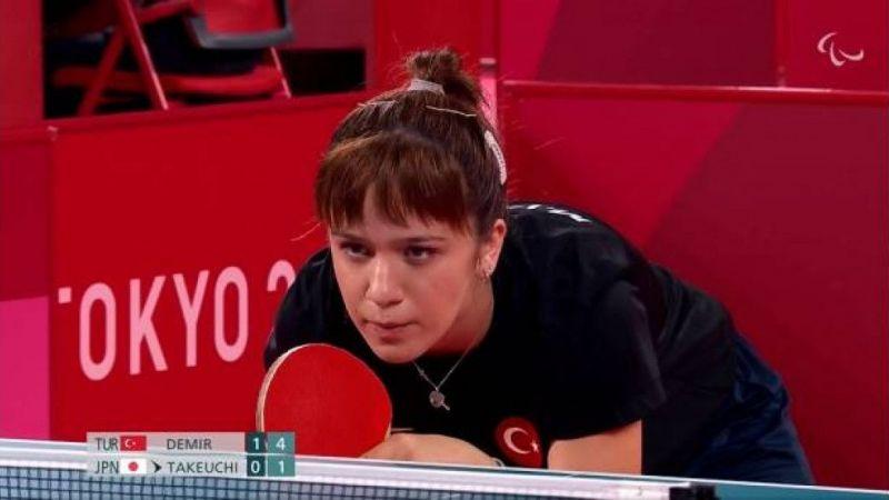 Merve Cansu Demir Paralimpik Olimpiyatları'nda Çeyrek Finalde!