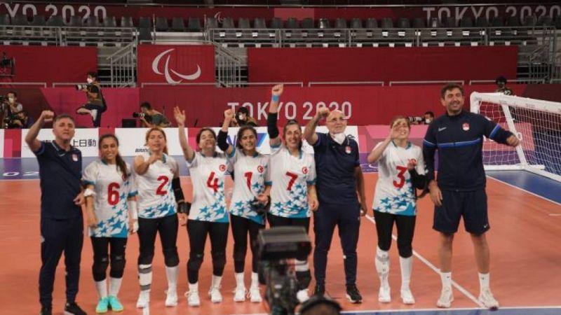 2020 Tokyo Paralimpik Oyunları'nda Kadınlar Golbolde Altın Madalya Türkiye'nin