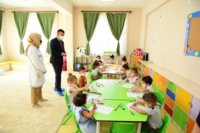Altındağ kreşlerinde yeni eğitim yılı başladı