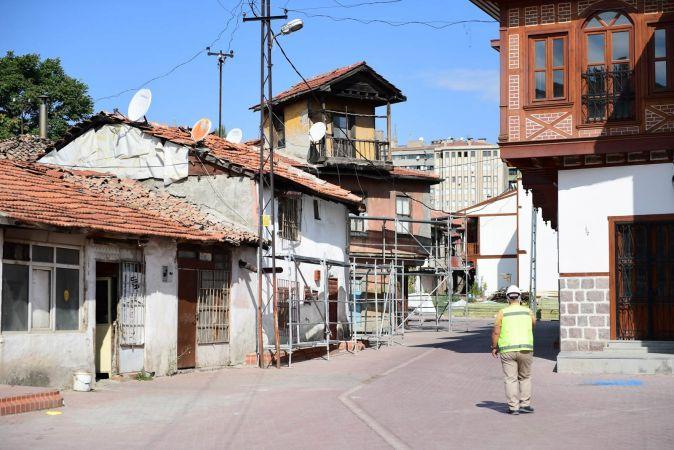 Ankara'da Tarihi Hamamarkası sokakları canlanıyor! Altındağ Belediyesinden yoğun bakım...
