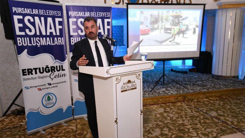 Pursaklar Belediye Başkanı Ertuğrul Çetin'den Şöförler Buluşması!