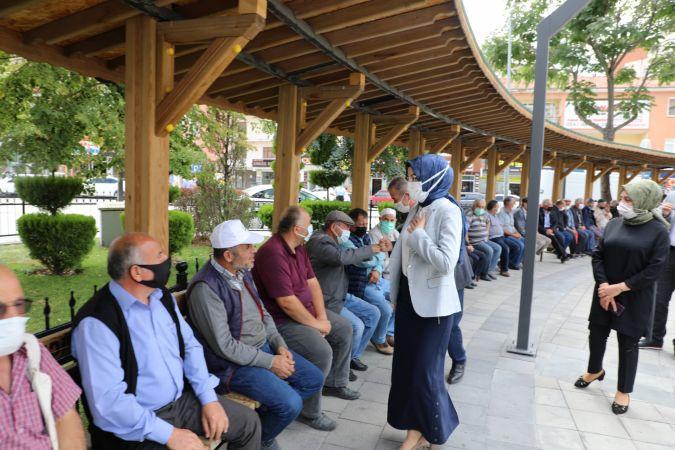 Ahilik haftası mehteran gösterisi ve pilav dağıtımı