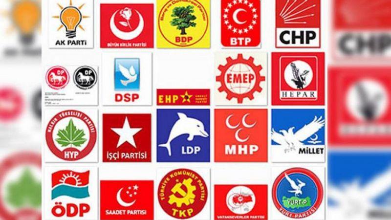 Türkiye'de kaç siyasi parti var 2021!
