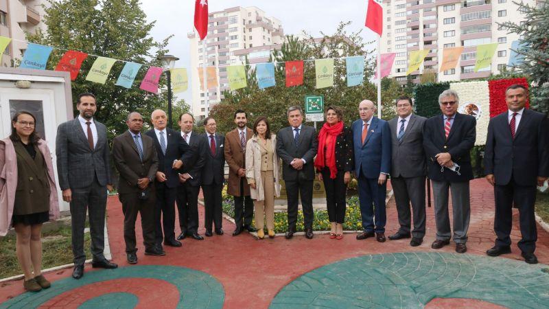Çankaya Belediyesinde Meksika Şenliği! Bağımsızlığın 200'üncü Yılı Kutlandı!