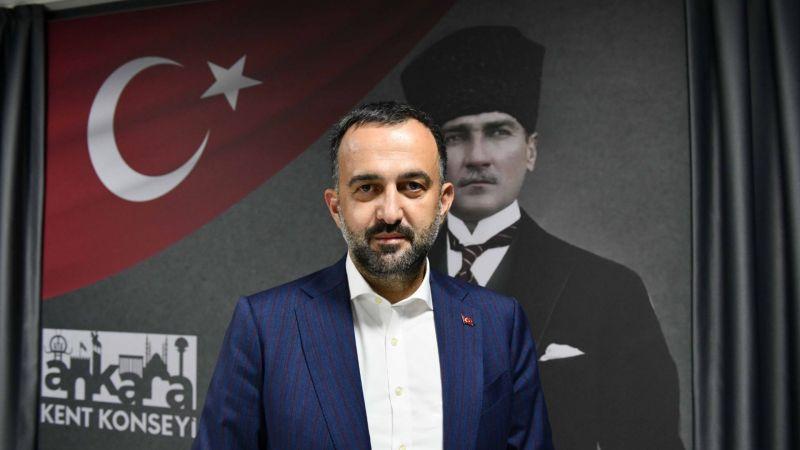 Ankara Kent Konseyi Başkanından 100. Yıllar Teşekkürü!