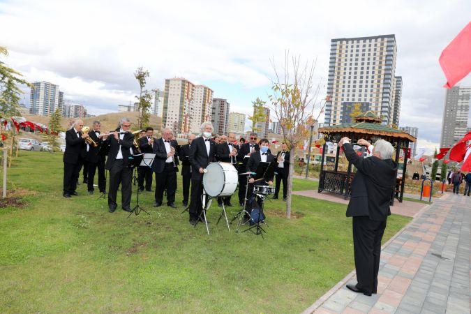 98. Yıl Anısına 13 Ekim Başkent Parkı Açıldı