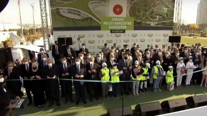 """Cumhurbaşkanı Erdoğan: """"Yeşil kalkınmanın Lokomotifi Ankara olacak"""""""