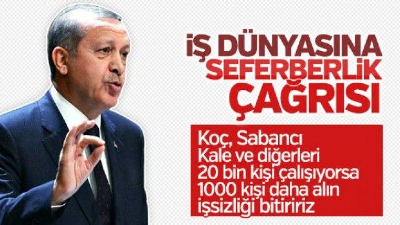 Cumhurbaşkanı Erdoğan'ın TOBB konuşması