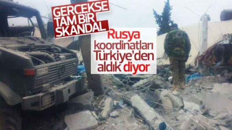 Kremlin: Koordinatları Türkiye'den aldık