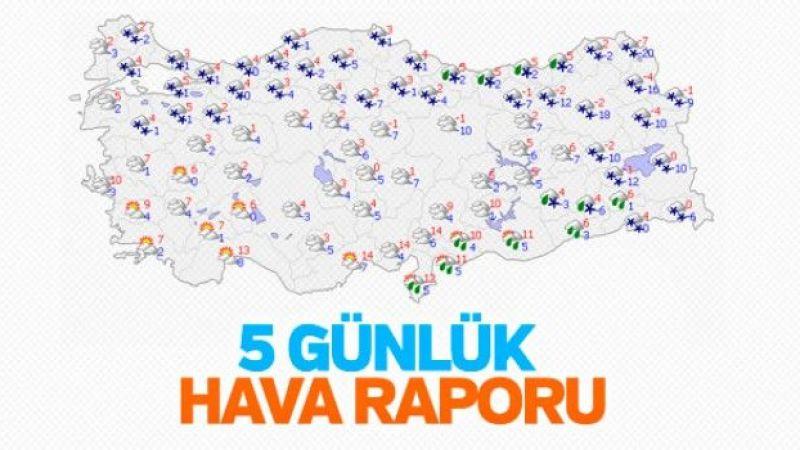 İstanbul'da yarın kar yağışı bekleniyor
