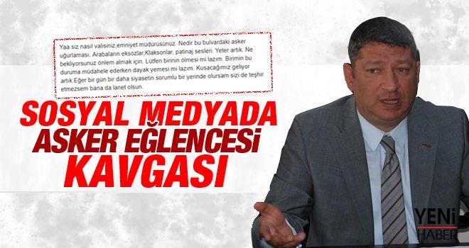 Kalınonuz'un asker paylaşımına MHP'li Keskin'den sert uyarı