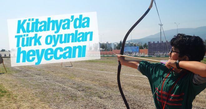 Kütahya'da Türk Oyunları heyecanı