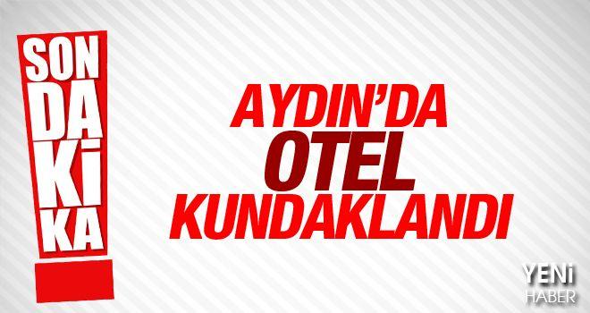 Aydın'da otel kundaklandı