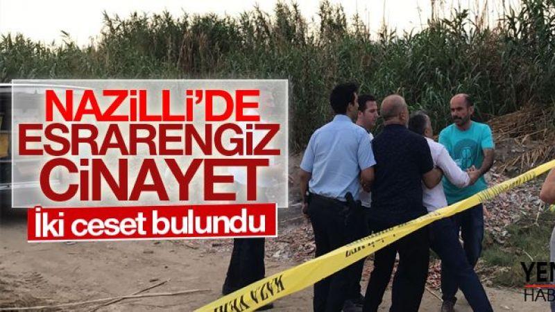 Nazilli'de cinayet