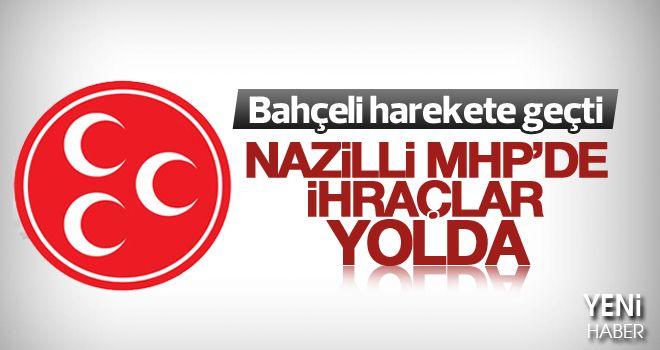 Nazilli MHP'de ihraç sürprizi